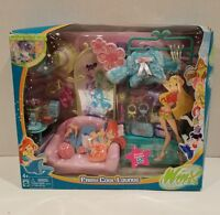 Rare Winx Club Fairy Cool Lounge In Damaged Box