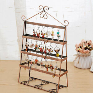 Image Is Loading 136 Holes Earring Necklace Bracelet Jewelry Stand Holder