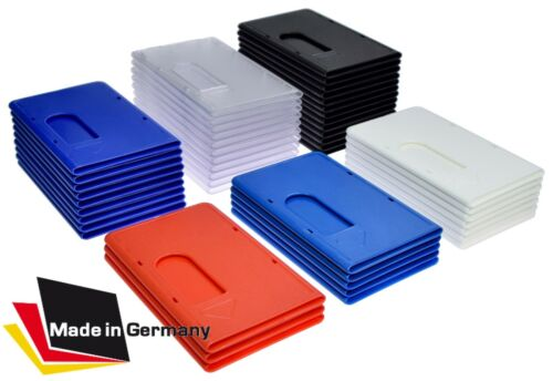 1-50 x EC Kartenhülle EXTRA STABIL blau Kreditkartenhülle Scheckkartenbox Chip