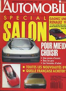 L-AUTOMOBILE-MAGAZINE-n-508-10-1988-Special-SALON