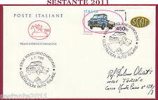 ITALIA FDC CAVALLINO ALFA ROMEO C. AUTOMOBILISTICHE 1986 POMIGLIANO D'ARCO Y258