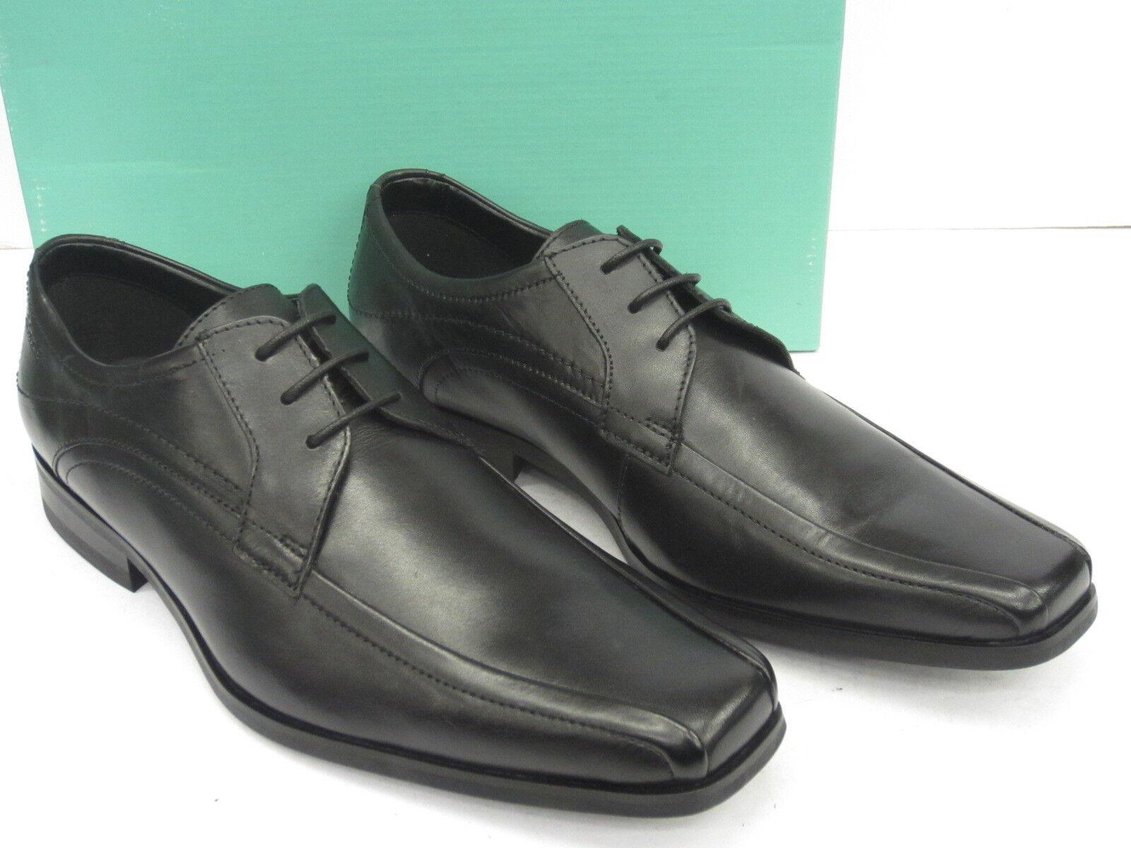 Clarks DA UOMO FORMALE coi lacci 'Croyden PARK' nero pelle Scarpe classiche da uomo