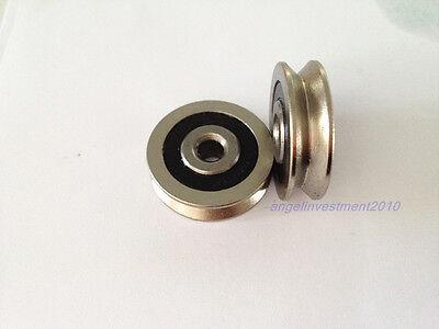 20pcs new 630VV 6mm*30mm*9mm V Groove Sealed Ball Bearings Vgroove bearing