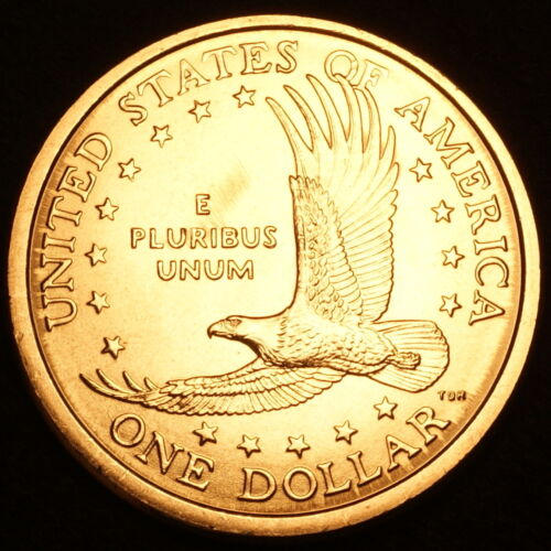 2003 D Sacagawea Dollar ~ With Eagle in Flight Reverse ~ BU from U.S Mint Roll
