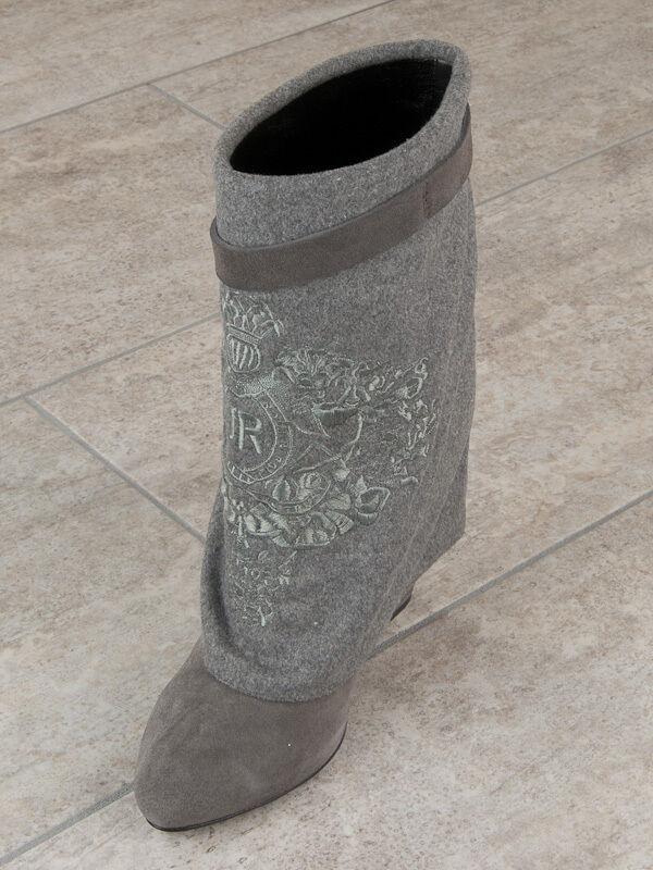 John Richmond botas De Cuero Italiano Nueva Colección Tamaños