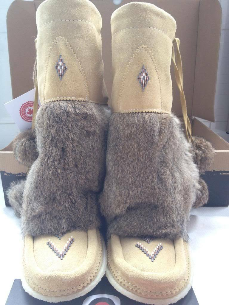 NEW Manitobah Mukluks 589215 Women's Size 6 Mukluk Winter Boots 2 DAY GET
