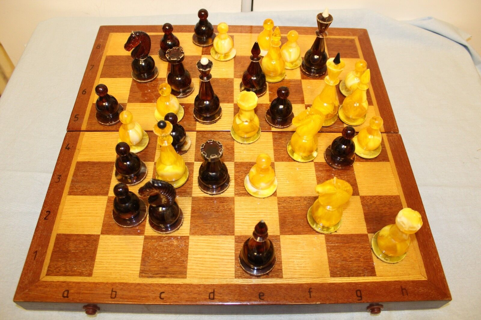 Vintage Soviet Gift Chess. 1970s