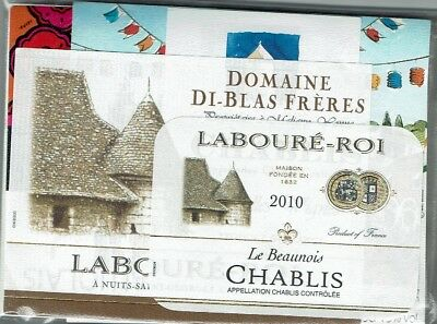 BEAUTIFUL LOT OF 34 FRENCH WINE LABELS FREE SHIPPING BEAUJOLAIS NOUVEAU 2011