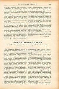 Asile-Maritime-Berck-sur-Mer-Portraits-Francis-Tattegrain-GRAVURE-OLD-PRINT-1905