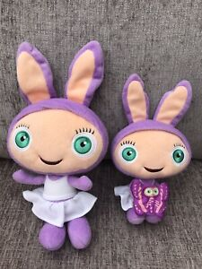 Waybuloo Lau Lau Purple Plush Soft Toys X 2 Bundle None Talking Pair Ebay