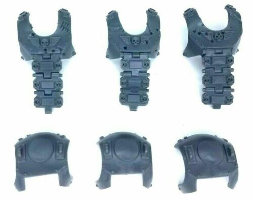 Cuerpo plástico bullgryns Ogryns carace armadura x3 ogro Astra Militarum