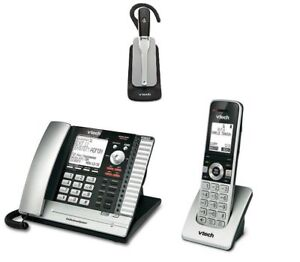 Image Is Loading Vtech 4 Line Corded Amp Cordless Office Business