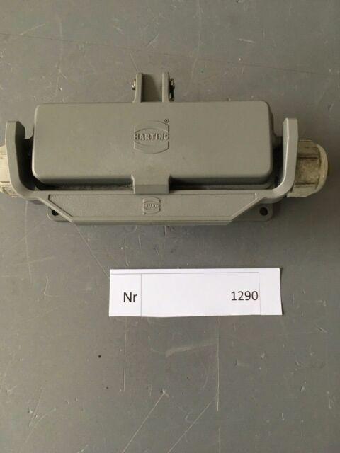 /< Harting HAN 10 ESS-F Steckereinsatz mit Gehäuse /> ungebraucht