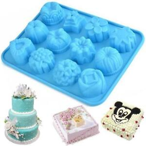 Silicone-Cupcake-Mold-Tool-Muffin-Chocolate-Cake-Candy-Cookie-Baking-Mould-Pan