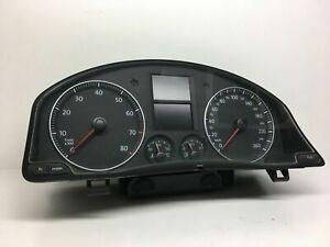 VW-Golf-MK5-Essence-Compteur-de-Vitesse-Instrument-Cluster-Kmh-Conduite-a-Gauche
