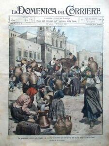 La-Domenica-del-Corriere-30-Agosto-1908-Siccita-Puglia-Jacopone-Perugia-Manovre
