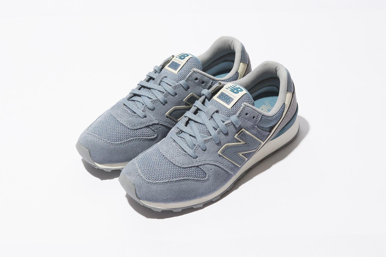 NEW BALANCE WOMEN CLASSICS WL696WSA RUSTIC Blau RETRO Lifestyles Sneakers 5 - 9
