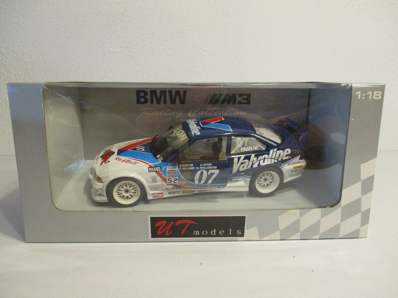 ( GOK ) 1 18 UT - Models  BMW M3 GTR  24h Dytona 1996  NEU OVP