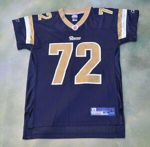 Vintage Reebok NFL St Louis Rams Chris Long #72 Jersey Size M. | eBay