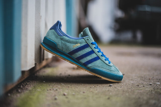 adidas jeans trainers size 10- OFF 68