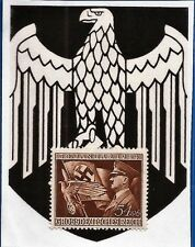 1944 3rd Third Reich Post Nazi Germany mail Hitler flag eagle postage stamp MNH