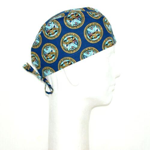 US Army Theme Scrub Hat