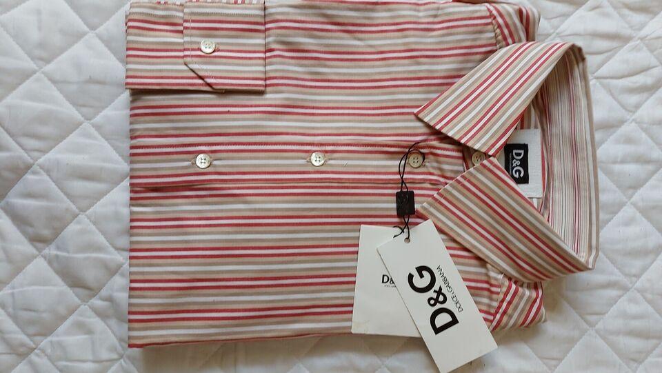 Skjorte, D&G, str. S