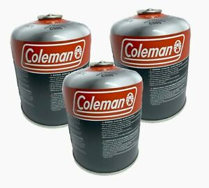 3 Coleman 440G Isobutane Fuel Butane Propane Mix Large Can Camping Survival