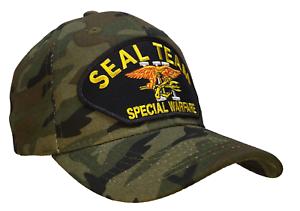 5e783452654 US Navy Seal Team 6 Six VI Hat Ball Cap Devgru CAMO Hat