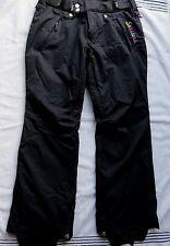 Sessions RECCO  Ski Snowboard Pants Black Women's SIZE S/M ( B#3)