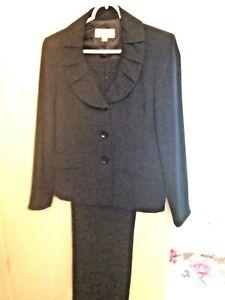 Prime Bien Robe Suit business Noir entièrement Pants Mesure doublée Le Sur Sz8 PRqII