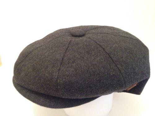 PEAKY BLINDERS NEWSBOY BAKER BOY DARK GREY CAP RETRO PAPERBOY CABBY FLAT CAP