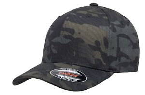 Official-Flexfit-Crye-Multicam-Black-Cap-Military-Baseball-Cap-All-Sizes