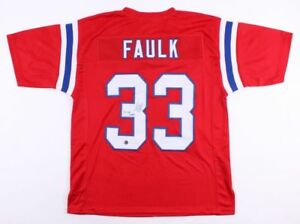 f19bb2f7 Details about Kevin Faulk Signed New England Patriots Jersey (Pats Alumni)  3x SB Champion