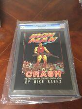 Iron Man Crash Graphic Novel Epic 1St First Conputer Generated Cgc 9.8