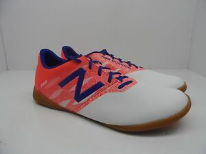 42ef86dd451 New Balance Men s Furon Dispatch IN Indoor Shoe White Flame Bolt ...