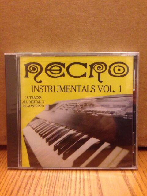 NECRO INSTRUMENTALS, VOL. 1 [PA] - NEW CD Free Shipping