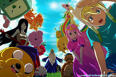 0256 Adventure Time With Finn & Jake  POSTER ART PRINT  A4 A3 BUY 2 GET 3RD FREE