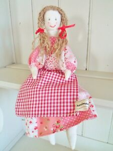 Rag-Doll-Kit-Complete-Sewing-Craft-Kit-Patchwork-Vintage-Doll-By-Sewintocrafts