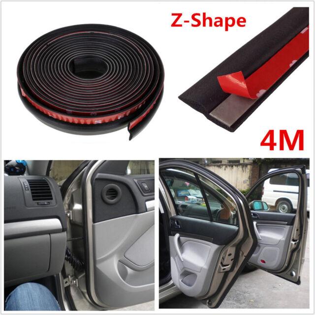 4m Z Shape Car Truck Door Window Rubber Seal Strip Weatherstrip Seals Hollow