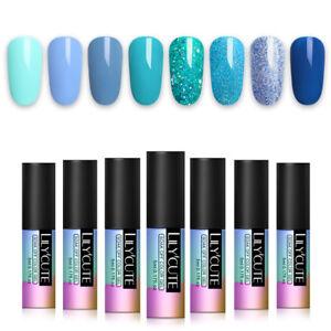 LILYCUTE-5ml-Pure-Tips-UV-Gellack-Grau-Series-Soak-Off-Nail-Art-Gel-Varnish
