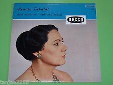 Renata Tebaldi singt Arien von Verdi und Puccini - Decca BLK 16138 - LP