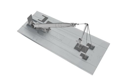 CMK N72029 Stern Torpedo W//Loading Winch /& Cart für Revell® U-Boot IX in 1:72