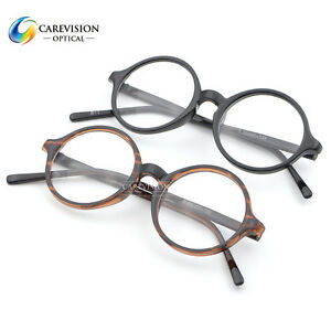 Eyeglass Frames Size 43 : 43,45,47,50 mm Lens Width Size Round Myopia Glasses ...