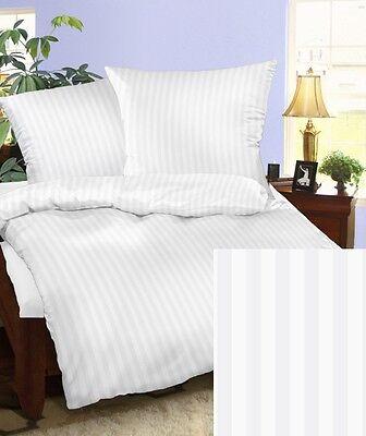 Captivating Mako Satin Bettwäsche Set 240x220 Weiß Damast 240 X 220 Übergröße Baumwolle  100% Nice Ideas