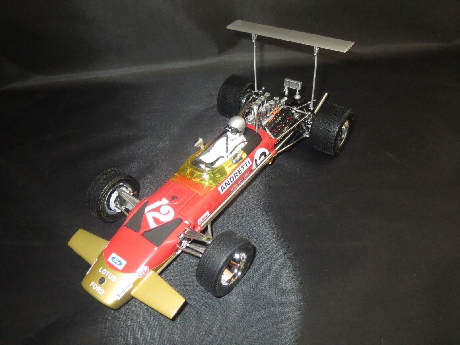 Exoto motorbox lotus-ford Type 49b gp United States (m. andretti) 1 18 sin VP.