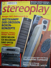 STEREOPLAY 2/02 manger Swing con Subwoofer, ISOPHON vietta, Cyrus Icon, Ayre k3x 5