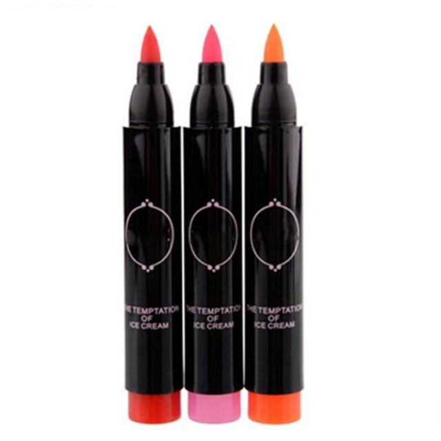 Lip Pigment Watercolor Pen Waterproof Lipstick Pen Light Makeup Cosmetic Tool