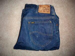 Vintage-60-039-s-LEE-RIDERS-Orig-Back-Denim-101-Men-039-s-Blue-Jeans-Leather-Patch-32