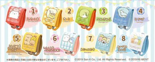 Details about  /Re-Ment Miniature Japan Sumikko Gurashi School Bag Part 3 Full set Rement